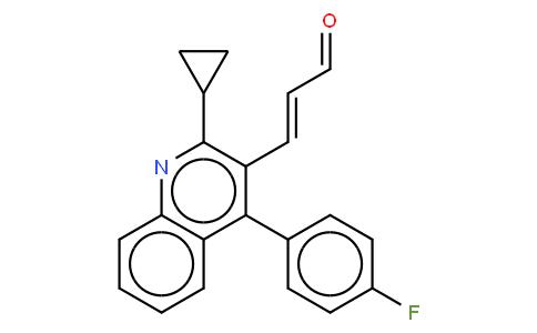 81310 - (E)-3-[2-Cyclopropyl-4-(4-fluorophenyl)-3-quinolinyl-2-propenal | CAS 148901-68-2
